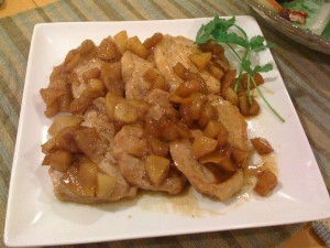 Caramel Apple Pork Chops 焦糖蘋果豬扒