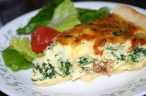 Spinach and Bacon Quiche 法式菠菜培根派