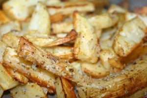 烤薯條 Baked French Fries