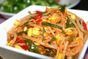 韓式涼拌黃豆芽 Korean Bean Sprout Salad