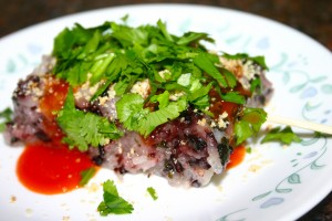 海苔紫米糕 Seaweed Purple Rice Cake