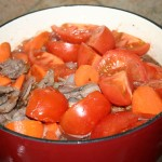 add tomato and carrot