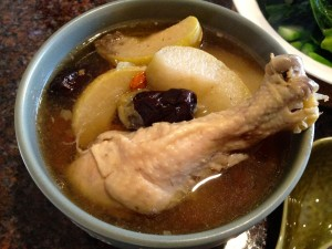 雪梨燉雞湯 Chicken Soup with Asian Pear