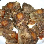 take out oxtails from pot