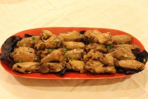 茶香滷雞翅 Stewed Chicken Wings with Oolong Tea